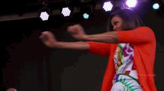 michelle obama happy dance blackpeople cabbage patch