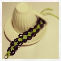 My Micro macramè bracelet