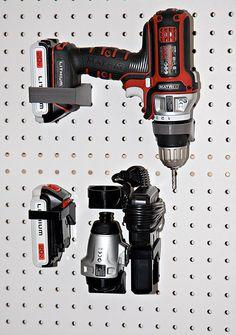 Pegboard mount for Black&Decker Matrix Drill set by Mgx