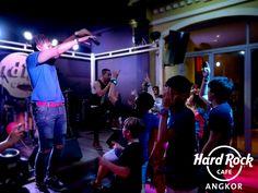 Zono Performance at Hard Rock Cafe Angkor