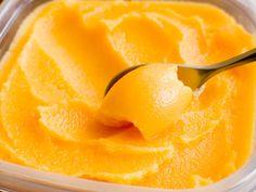 dairy-free (creamsicle-like) clementine sorbet