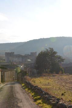 Villerouge, après une balade hivernale