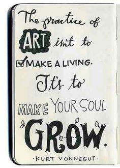 The practice of art