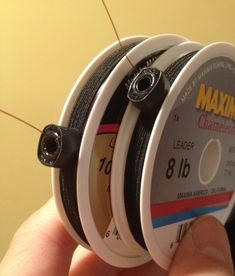 If you have ever tried to use Maxima tippet you will understand the amazing usefulness of this product. Spool Hands