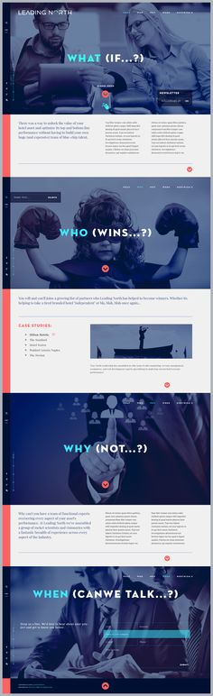 Michal Wierzbicki: Leading North V2 Web Design