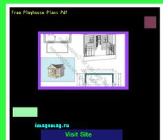 Free Playhouse Plans Pdf 155841 - The Best Image Search