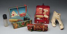Lot of Antique Accessories. : Lot 57