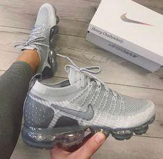 0b61a12226e06 Pinterest @Trvpin ♡ Gray Nikes, Nike Shopping, Air Max Sneakers, Sneakers  Nike