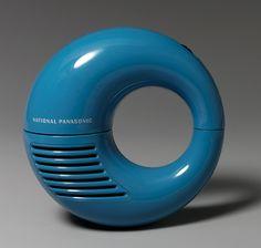 National Panasonic Radio, Model R-72S, ca. 1969; Manufacturer: Matsushita…