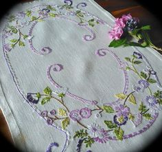 Check out this item in my Etsy shop https://www.etsy.com/uk/listing/461295904/hand-embroidered-vintage-linen-tray