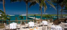 Dine at Sandals Emerald Bay in Bahamas where you can eat breakfast, lunch and dinner with a beautiful beach view   http://www.puredestinations.co.uk/resort/sandals-emerald-bay/
