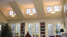 Decorating Bedroom With Dormer And Vaulted Veiling - Bedroom : Hardrawgathering. Dormer Windows, House Windows, Windows And Doors, Küchen Design, House Design, Rustic Lake Houses, Shed Dormer, Ranch Remodel, Modern Ranch