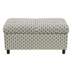 Langley Custom-Upholstered Storage Bench - Seasonal ($224) ❤ liked on Polyvore featuring home, furniture, benches, dark brown storage bench, tufted furniture, colored furniture, upholstered storage bench and upholstered bench