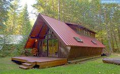 A-Frame Cabin in Mount Rainier, Washington