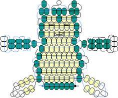 Snorlax beadie pattern
