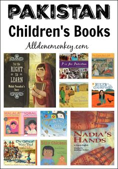 Learn more about Pakistan with these picture books, which range from vignettes of everyday life to thoughtful pieces on child labor, refugees, and Malala. From @alldonemonkey