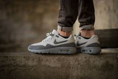 a7df83a3b85f Quick Buy Nike Air Max 1 Ultra Moire Neutral Grey Dark Grey Womens Shoes to  enjoy the Lowest Prices.