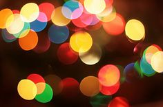 How to: Bokeh (Photographing lights)