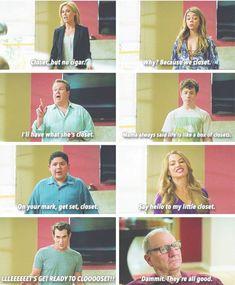 Closet Closet Closet Closets. Modern Family. Season 6 . Claire. Hayley . Cam.Luke. Manny. Gloria. Phil. Jay