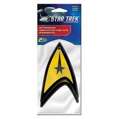 Star Trek Delta Logo Air Freshener 2-Pack - PlastiColor - Star Trek - Car Accessories at Entertainment Earth