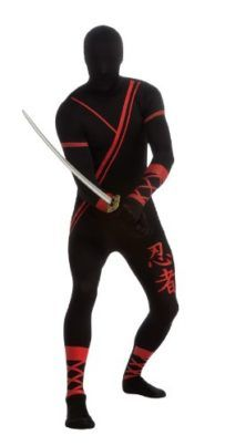 Rubies Costume Adult Ninja 2nd Skin Zentai Super Suit Costume Tag someone who should wear this! #Funny #Halloween #Costume