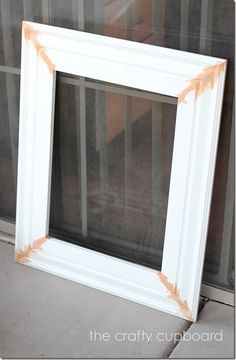How to make a frame from molding