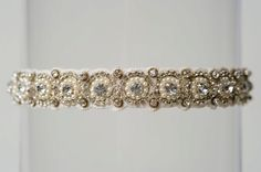 The Lori wedding garter, available from www.lagartier.com