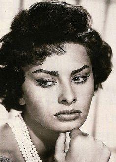 Sophia Loren.. I adore her