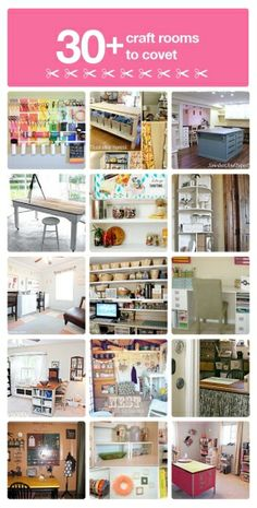 30+ craft room ideas you will love! by l!sa
