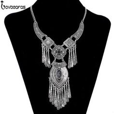 Bohemian Necklace Collier Femme Jewelry