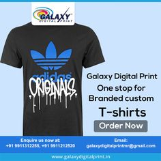 Improve your merchandise sales by having custom #TShirts designed for promotion from #GalaxyDigitalPrint. Get to know more by mailing us at: galaxydigitalprintmr@gmail.com #PrintedTShirts #CustomTShirts
