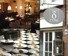 Fyra, Amsterdam Amsterdam Restaurant, Restaurants, Table Decorations, Drink, Eat, Home Decor, Diners, Homemade Home Decor, Beverage
