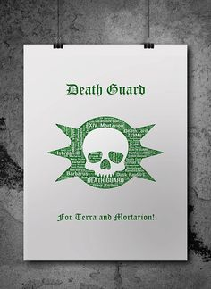 Deat Guard Pre-Heresy Warhammer 40K Printable by ZsaMoDesign
