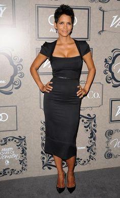 Little black dress ~ Halle Berry ~ designer: Roland Mouret