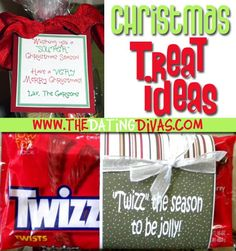 5 fabulous Christmas treat ideas for your neighbors, family, or friends!  www.TheDatingDivas.com #christmastreats #neighborgifts #christmas