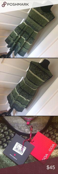 "Goa Goa Italian Designer Dress Beautiful! Great material. 15"" across waist and 17"" across bust. Pockets! Goa Goa Dresses"