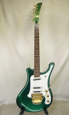 Color Esmeralda - Emerald Green!!! Guitar YAMAHA SGV-700PG