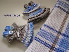 Towel Toppers Towel, Crochet, Accessories, Fashion, Moda, Fashion Styles, Ganchillo, Crocheting, Fashion Illustrations