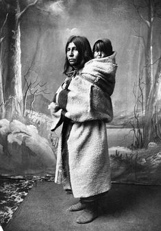 Blackfoot Woman and Baby by glenbowmuseum, via Flickr