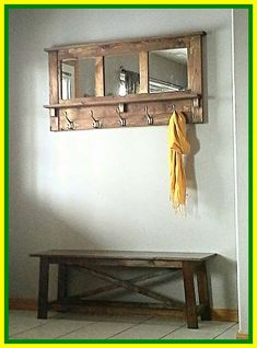 Ideas For Transforming Your Entryway Storage Decor . Storage For Coats Entryway Bench And Coat Rack With . Entryway Shoe Storage Bench A Thrifty Mom Recipes . Home and Family Decor, Coat Rack Wall, Rustic Entryway, Hallway Bench, Rustic Bench, Wood Entryway Bench, Reclaimed Wood Benches, Rustic Wood Bench, Entryway Rack