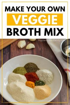 Veggie Broth can really elevate plant-based diet recipes. Are you looking for the best veggie broth? Take a look at my favorite veggie broth options. Healthy Recipes, Dairy Free Recipes, New Recipes, Soup Recipes, Whole Food Recipes, Vegetarian Recipes, Favorite Recipes, Vegetarian Cooking, Recipies