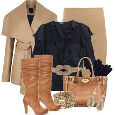 """""""Navy and Camel"""""""
