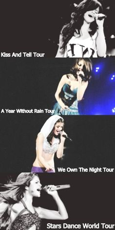 Went from tours to world tours