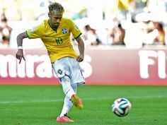World Cup Brazil's poster boy Neymar is born to handle penalty pressure - World Cup 2014 - Football - The Independent Football Match, Sport Football, World Cup 2014, Fifa World Cup, Paula Radcliffe, Penalty Shoot Out, Allyson Felix, Poster Boys, Neymar Jr