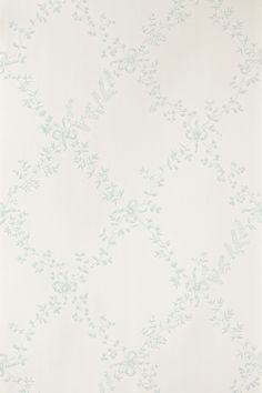 "Farrow & Ball Toile Trellis BP 668 Farrow & Ball Orangerie BP 2515 295pr W: 53cm/21"" L: 10m Pattern repeat: 62cm/24 1/3"""