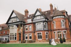 Laura and Ian wed at the stunning Woodlands Park wedding venue in Surrey.