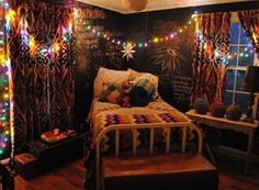 Bohemian Bedroom : The Amazing Hipster Bedroom Decoration Ideas New Home Designs With Hipster Bohemian Bedroom The Most Brilliant Hipster Bohemian Bedroom Regarding Desire Bohemian Bedrooms, Funky Bedroom, Hippie Bedroom Decor, Hippy Bedroom, Indie Bedroom, Boho Room, Home Decor Bedroom, Cozy Bedroom, Hippie Bedding