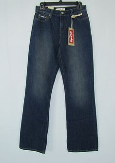 Levi´s jeans women's 512 perfectly slimming boot cut misses jeans size 6 NEW #Levis #BootCut 27.99