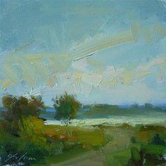 """Into the Glare"" - Original Fine Art for Sale - ©Kelli Folsom"
