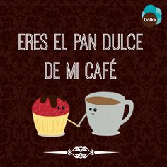 Porque siempre hay un #café para un pan dulce. #MomentosDolka #Dolka